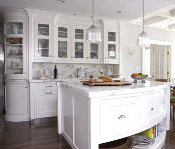white kitchen w curves